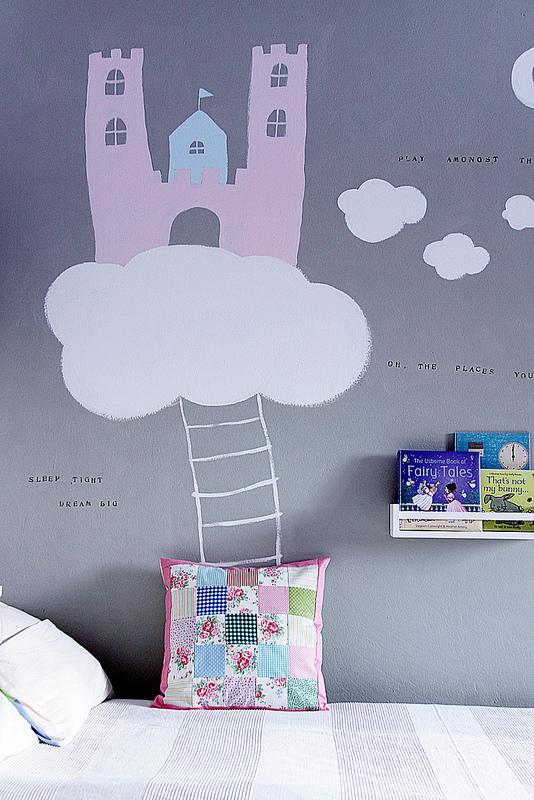 decorazioni muro stanza bambina