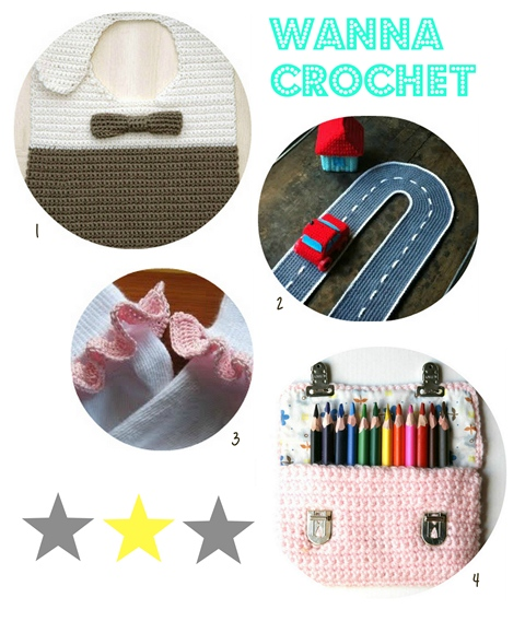 4 super easy crochet projects