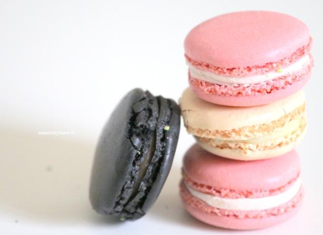 macarons liquirizia castagne e rosa