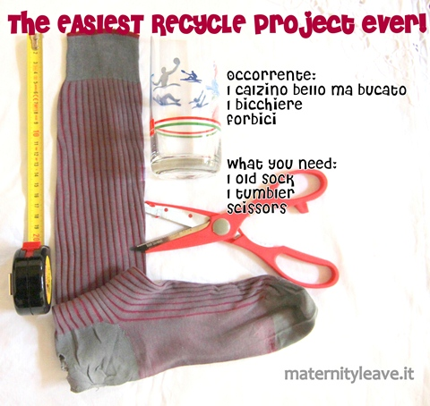 how to recycle your socks