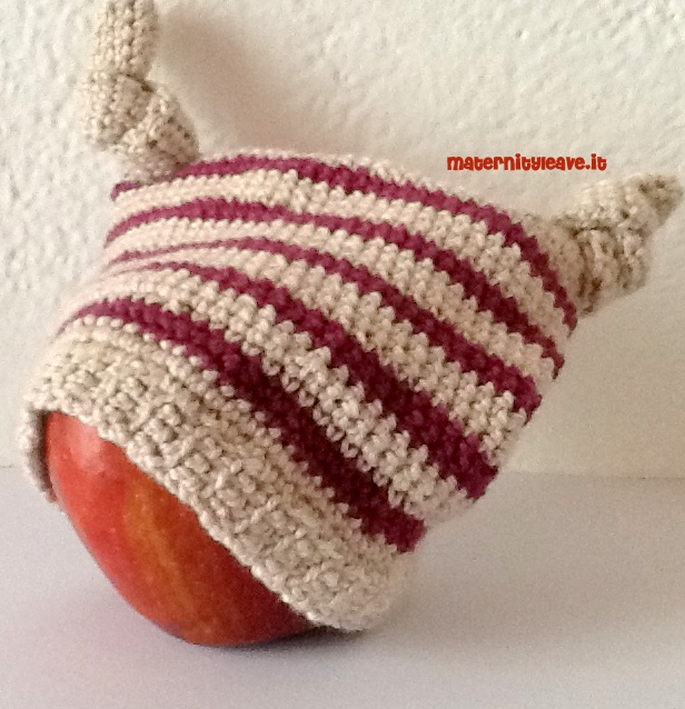 cappellino con i nodi