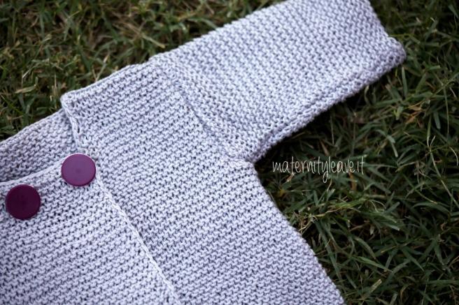 cardigan bambino semplicissimo maglia legaccio