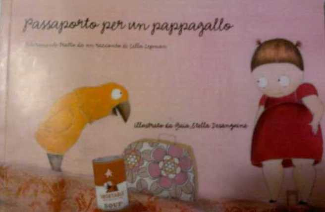 passaporto per un pappagallo