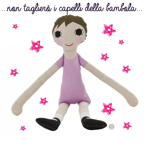 bambola vera sebra