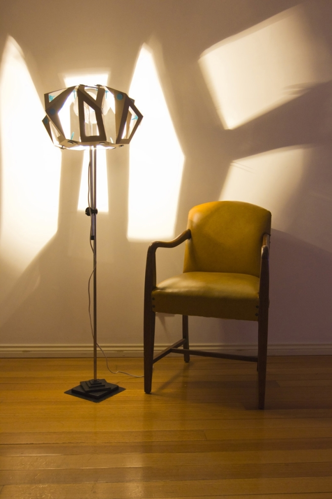 Makedo Lamp