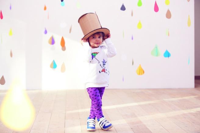 vestiti per bambini colorati 100% cotone indikidual