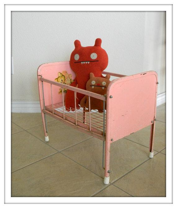 vintage dool crib