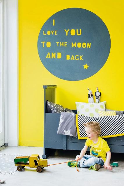 rafa kids giallo room