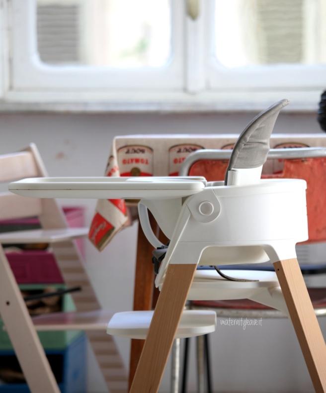 Sedia stokke steps con baby seat
