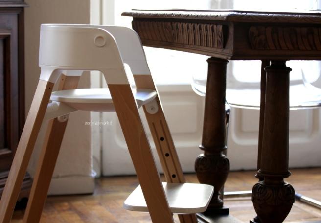 sedia stokke steps bambino