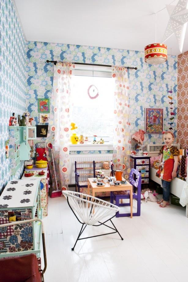 bohemian kid room 5
