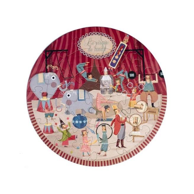 circo-rotondo-multicolore puzzle Londji
