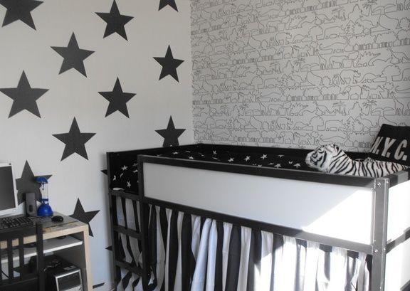 Pareti 3 star black and white