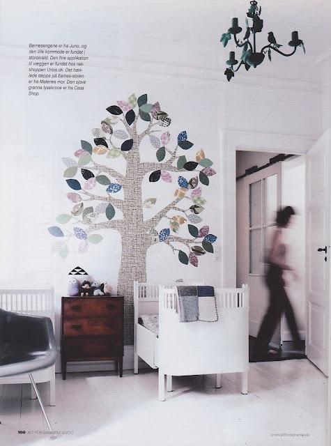 idee pareti camera bambini inke