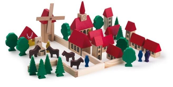Desk il villaggio in legno