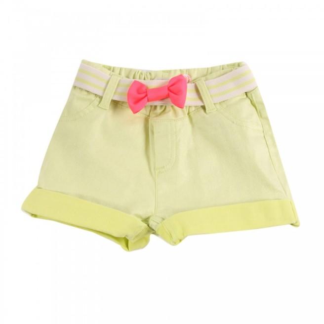 Bilb Bush_shorts-con-cintura-a-fiocco-giallo-fluo